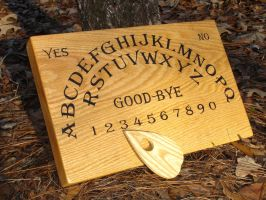 Ouija Board - Spirit Board by GreenDragonWorkshop