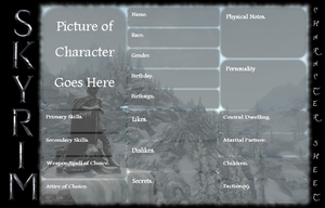 Skyrim Reference Template by JayArtemisWolf