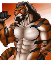 Force tiger by Marsel-Defender