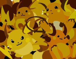 Raichu Wallpaper by PrincessRinielle