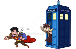 Superman Tardis by jmascia