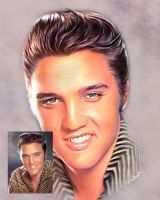 Elvis by swankyportraits