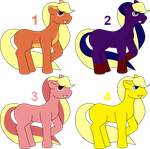 Lemonade Pony Adopts - OPEN by CassidyPeterson