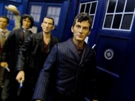 The 11 Doctors: Modern Era by Character Options by Police-Box-Traveler