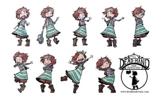 Wallpaper Celeste's poses by AmeliaDDraws