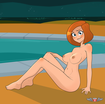 Ann Possible - Nudie Version by Phillip-the-2