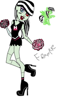 Fearleading Frankie and Pony Frankie by MonsterHighFan1001