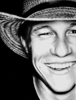 Heath Ledger II by umbrellaXbrigade