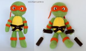 Michelangelo by Dragons-Garden