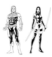 NEW EXILES sketch 3 by ColtNoble