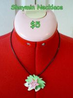 Shaymin Necklace by CynicalSniper