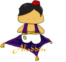 Disney Dolls: Aladdin by k-o-j-i