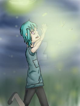 Catching fireflies by teatree123