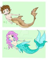 Merman Point Auction (closed) by Ruruca