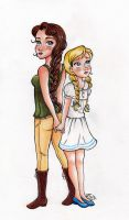 Everdeen, Katniss and Primrose by My-Anne
