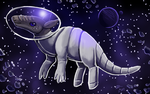 Space Armadillo by Blairaptor