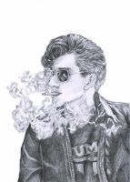Alex Turner by LiberianGurrl