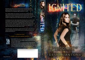 Book Cover: Ignited Book I by Desni Dantone by Georgina-Gibson