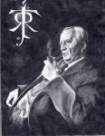 J R R Tolkien by NeurotoxicTendencies
