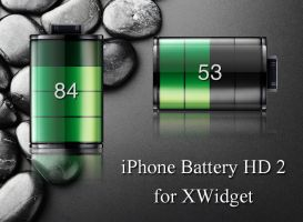 iPhone Battery HD 2 for xwidget by jimking