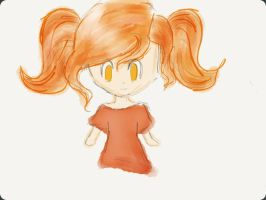 Little flame girl by LilianNogueira