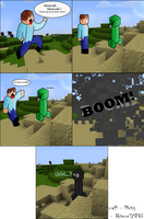 Minecraft - Role Reversal by Rebecca1208