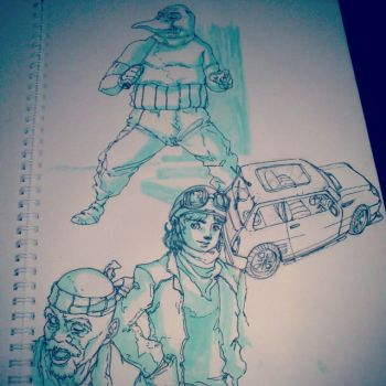 sketching by bloodsplach