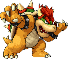 SSB4 Bowser Pixelart by SuperMarioOfficial