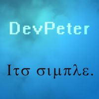 New Avatar by devPeter