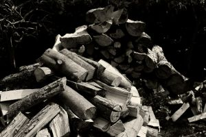 A little pile of wood by Roswell1947