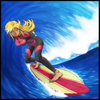 Armless Surfing by gamera1985