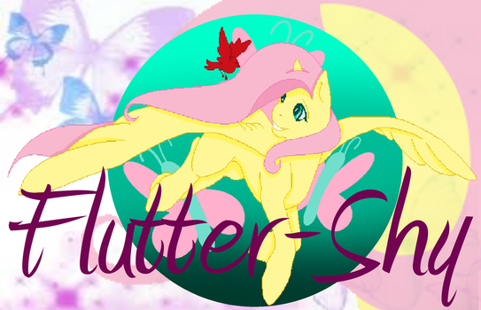 Flutter-Shy Medalion 1 base by shadowinkwarrior by katewulf