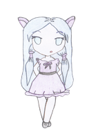Umi the Chibi Girl by myheartindollparts