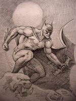 Batman: Hush (low res) by myconius