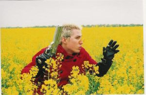 Vash cosplay in flowers 3 by plushieman