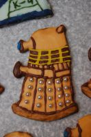 Gingerbread Dalek by Metallicar-67