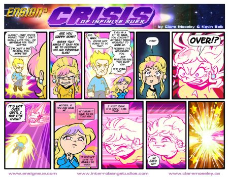 Ensign Cubed Crisis of Infinite Sues 44 by kevinbolk