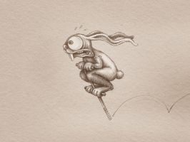 Cheating Rabbit by martypetrova