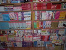 My Manga Collection by amybeth1327