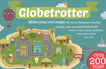 Globetrotter Map Illustrations by Bel0ved