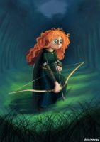 Princess Merida the Brave by Kroizat