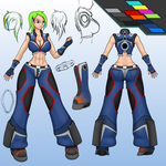 S4-League Concept - Becky. Free Motion set. by FunkyBacon