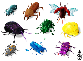Beetle Concepts by Glaiceana