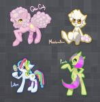 Sweet Pony Adoptables | OPEN by crystalhaven