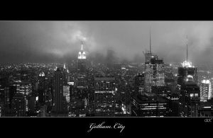 Gotham City by asoi