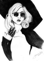 Lady GaGa by animejunkie106