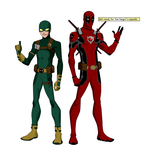 Deadpool And Bob, Agent of... X? by Bobkitty23
