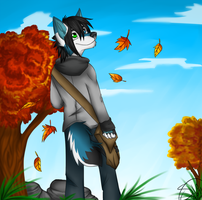 Autumn Boy by Rend-Lostluck