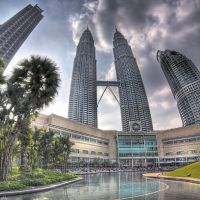 KLCC Petronas Towers HDR by Draken413o
