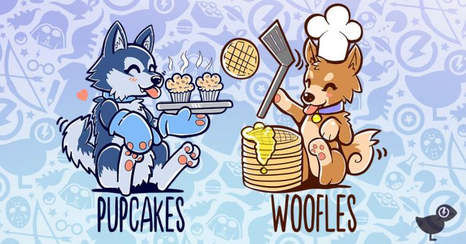 I'm Making Pupcakes shirt now on TeeFury.com by SarahRichford